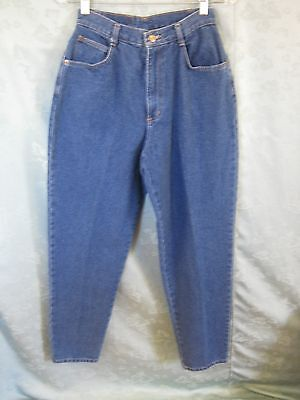 Vintage 80's Westport Jeans Size 9 / 10 High Waist Blue Denim Tapered Leg NWT