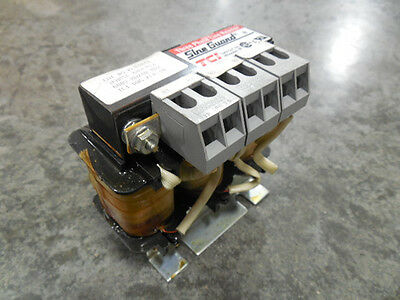 USED Trans Coil Inc. KLR4ATB Sine Guard Three Phase Line Reactor 4 Amps 600V