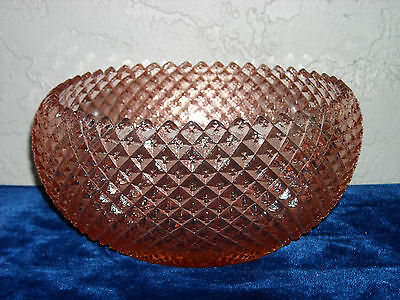 Miss America Curved-In Bowl  Pink