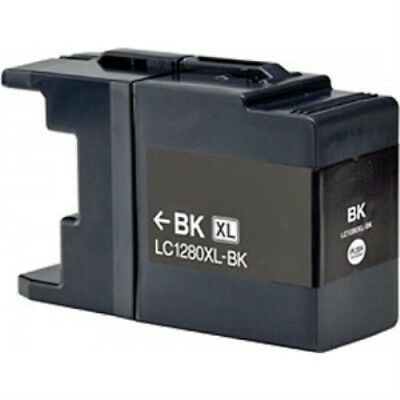 LC1280XL-BK Compatible High Capacity Black Ink Cartridge for Brother