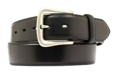 """Nocona Western Mens Belt Leather /""""Ocala/"""" Made in USA Chocolate Brown N2300947"""