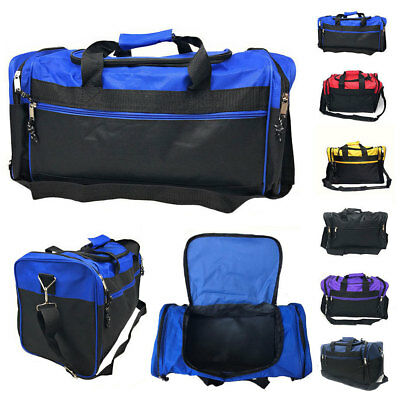 Duffle Duffel Travel Size Sports Gym Bag Bags Workout Blank Carry-on Luggage