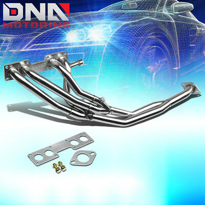 Stainless Tri-Y Long Tube Header For 91-94 240Sx S13 Sohc Ka24 Exhaust/manifold