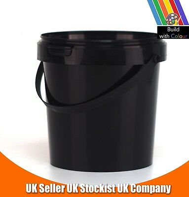 1L Plastic Bucket With Lid
