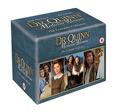 "Doctor Quinn Medicine Woman Complete Series 41 Disc Box Set R4 ""New&Sealed"""