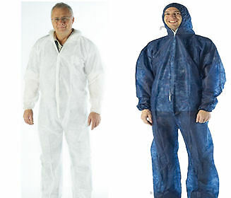 DISPOSABLE OVERALL / COVERALL DIRT PROTECTION for WORKSHOP PAINTING DIY SPRAYING