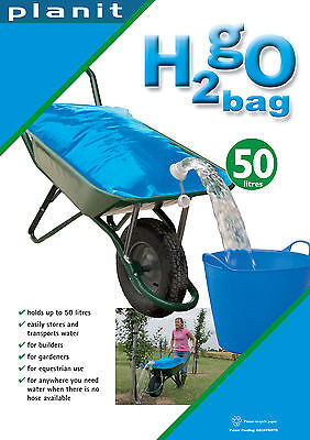 H2Go 50 Ltr Portable Collapsible Water Container/bag