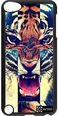 Coque Ipod Touch 5 - Tiger Roar Cross Hipster - ref 562