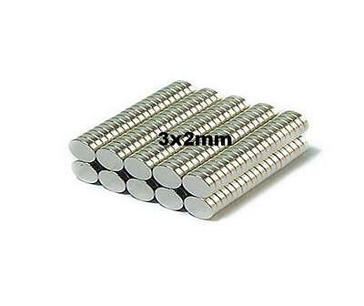 50x 3x2mm Neo Magnets Suit Scale Warhammer Model Figures Craft Role Play Games