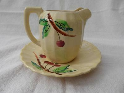Vintage Shorter and Son jug and saucer Stoke on Trent FREE UK P&P
