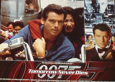 James Bond 007 - TOMORROW NEVER DIES - 11x14 US Lobby Cards Set of 8