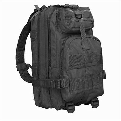 CONDOR MOLLE Modular Nylon Compact Assault Pack Backpack 126 - BLACK