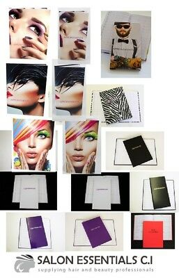 APPOINTMENT BOOK / ACCOUNT BOOK Hairdressing Salon Beauty Spa Pink White Purple
