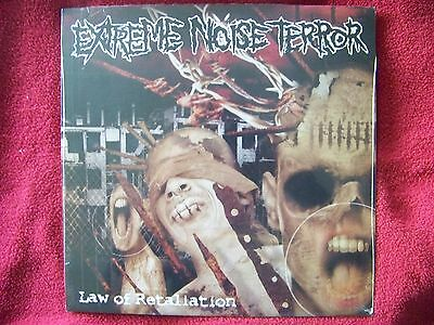 Extreme Noise Terror - Law of retaliation  Power it up LP  OVP   NEU