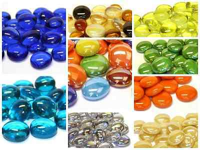 Over 50 Colours/Mixes of Glass Pebbles / Nuggets / Stones / Mosaic tiles