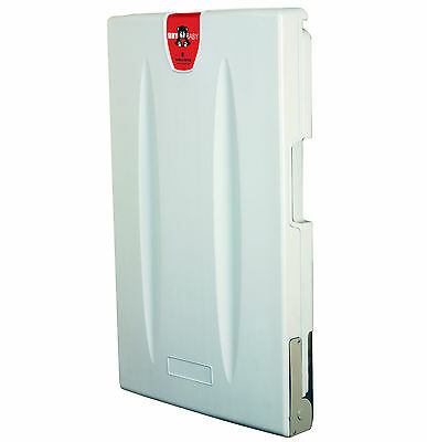 WORLD Dry Baby ABC-300V Changing Station Light Gray Vertical Surface Mounted