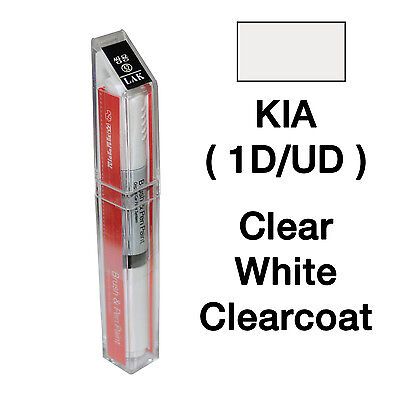 KIA OEM Brush&Pen Touch Up Paint Color Code : UD/1D - Clear White
