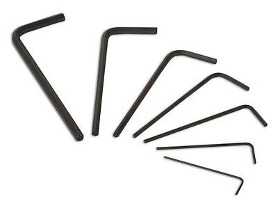 MINI HEX ALLEN KEY SET  0.7mm 0.9mm 1.3mm 1.5mm > 3mm