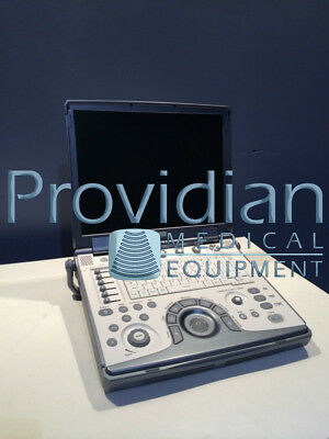 GE LOGIQ E portable ultrasound with 8L-RS vascular transducer