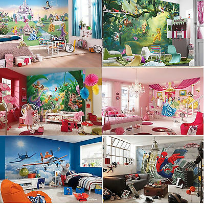Wall Mural wallpapers KIDS ROOM DISNEY MARVEL Princess Cars 2 Planes Nursery art