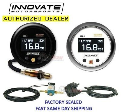 INNOVATE SCG-1 Wideband Gauge and Boost Controller Combo AFR Air Fuel UEGO 3882