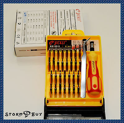 33 in 1 Screwdriver Set PC Hard Drive Printer Shaver Repair Kit Tools