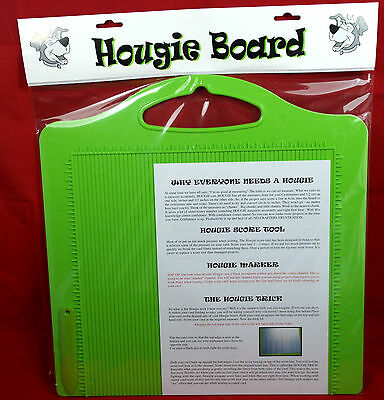 Hougie Board Range - Double-sided score boards for inches-centimetre conversion