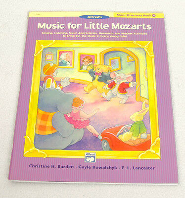 BRAND NEW! Music For Little Mozarts DISCOVERY BOOK 4 Alfred Student Piano Method