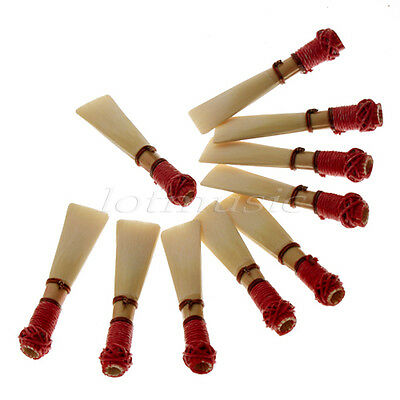 10pcs Bassoon Reed Case Reeds High Quality plastic case,the more cheaper
