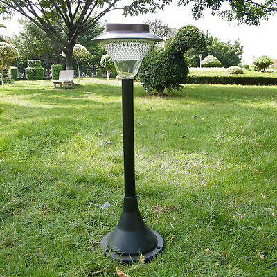16-LED Solar Powered Garden Yard Path Post  Lamp  Height-adjustable Night Light