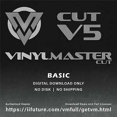 VinylMaster Cut V4.0 Simple 2017 Sign Software for Vinyl Sign Cutters & Plotters