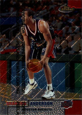 1999-00 Finest #154 Shandon Anderson