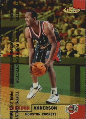 1999-00 Finest Refractors Gold #154 Shandon Anderson/100