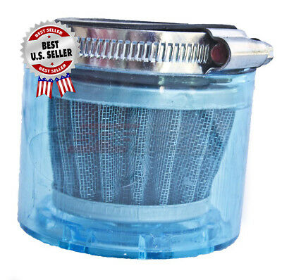 """Air Filter 42mm 1 5/8"""" Straight Shielded Pod Cone  ~ US Seller."""