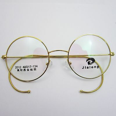 24657a0560 40mm 42mm 44mm Antique Vintage Round Wire Rim Eyeglasses Reading Readers  Glasses