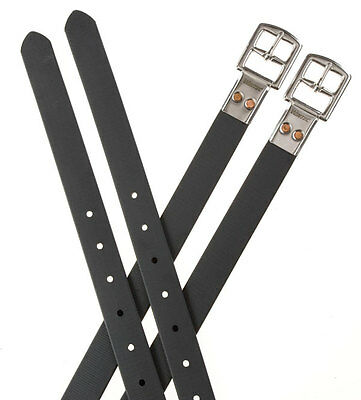 Wintec Slimline Stirrup Leathers,Black or Brown,All Sizes in Stock,Fast Delivery