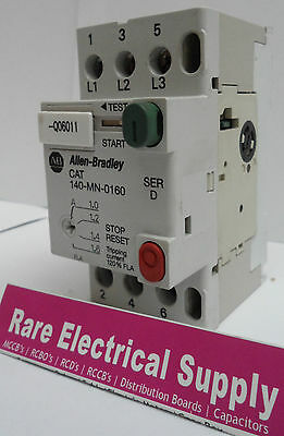 NEW Allen Bradley 140-mn-0160 Manual Motor Starter Circuit Breaker 140mn0160