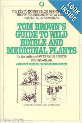 Tom Brown's Guide to Wild Edible and Medicinal Plants (Field Guide) Book By Tom