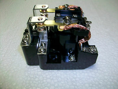 120 V. Ac.  DPDT 40 A. POWER RELAY