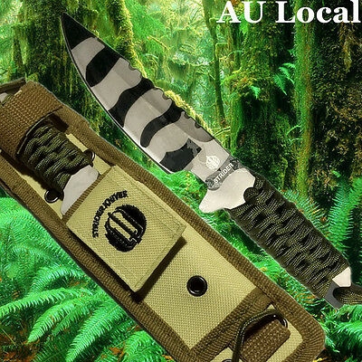 Camouflage Knife Blade Camping Hiking Military Tactical Dagger OKNIF4001