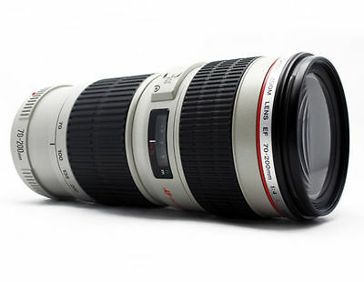 Canon EF 70-200mm f/4L USM Telephoto Zoom Lens   NEW