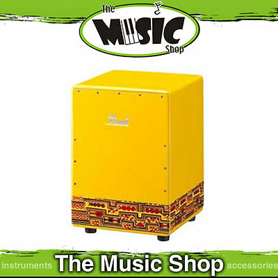 New Pearl Yellow Fun Box Cajon Drum - Small Cajon for Kids - PFB-300