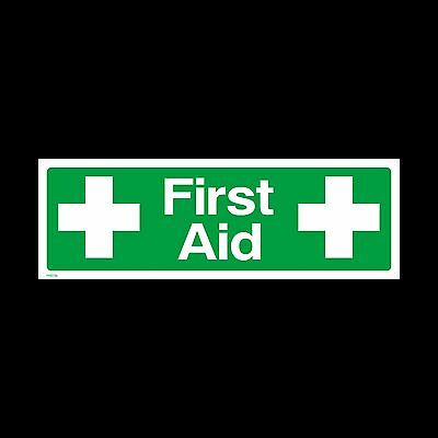 First Aid Sign, Sticker - All Sizes & Materials - Emergency (FAID39)