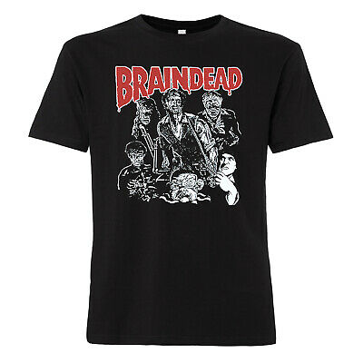 Braindead T-Shirt Old School Horror Movie Zombie Kult Dead Alive Peter Jackson