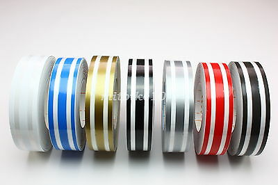 "PIN STRIPING Two Color Stripe Combination 4//16/"" Wide X 150 Foot Roll 3M"