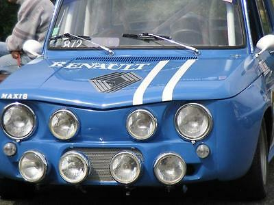 "Peintures Glasurit/RM: Renault R8 Gordini ""Bleu de France"" 418 brillant direct"