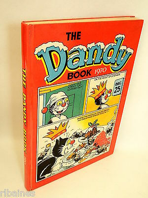 The Dandy Book Annual 1970, Korky the Cat/Desperate Dan/Bully Beef  R&L