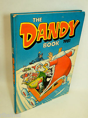The Dandy Book Annual 1981, Bananaman/Desperate Dan/Bully Beef  R&L
