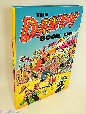 The Dandy Book Annual 1986, Bananaman/Desperate Dan/Bully Beef  R&L