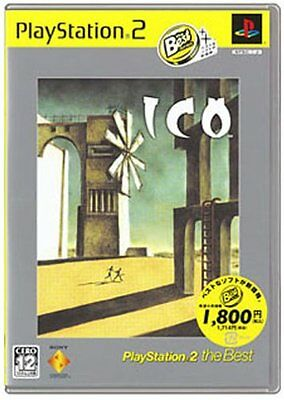 Used PS2 ICO PlayStation2 the Best Japan Import